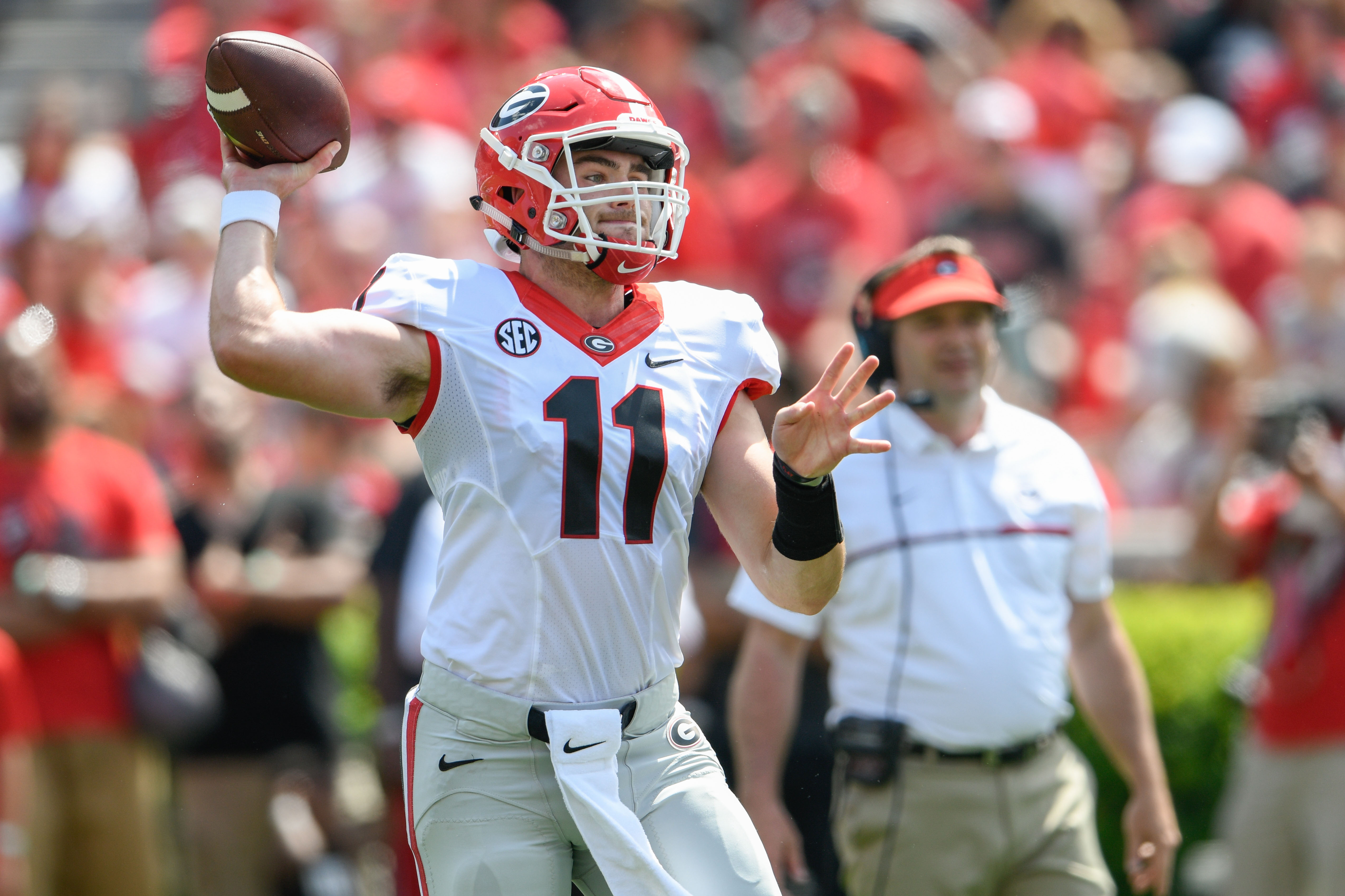 4343a3501 Georgia football  Top 10 players from the 2017 G-Day Game - Page 7